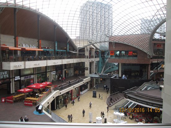 541e3892c65b Interesting architecture at Cabot Circus shopping centre - Picture ...