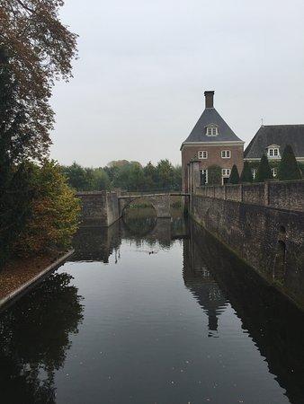 Amerongen Castle - the moat