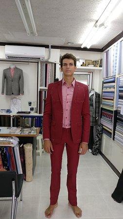 Kamala, Thailand: cotton suit