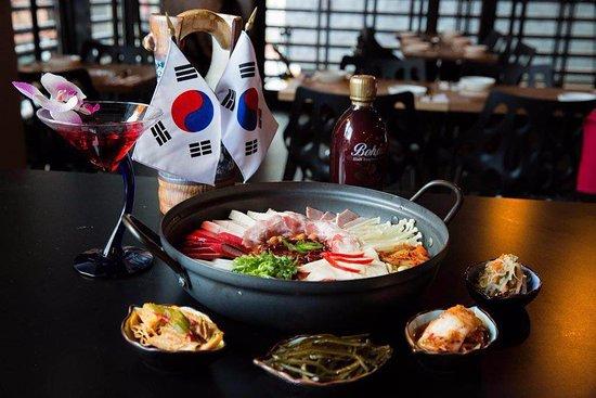 Cnk Korean Cuisine Bude Hot Pot