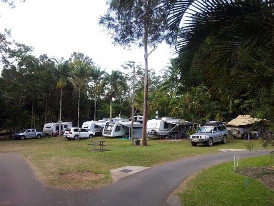 Atherton, Australien: Powered sites