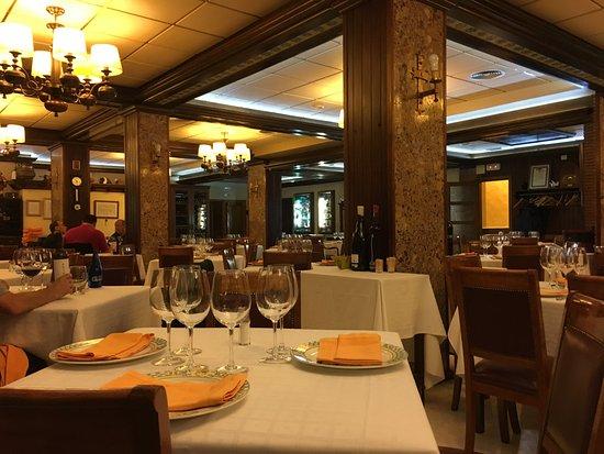 Virrey Palafox: Dining area