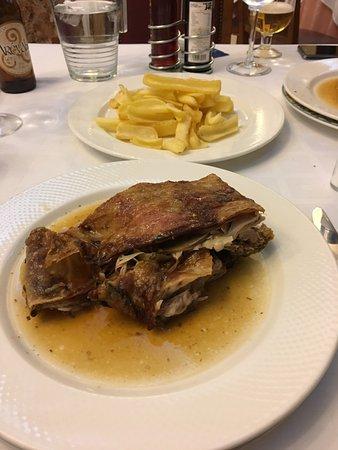 Virrey Palafox: Roast lamb