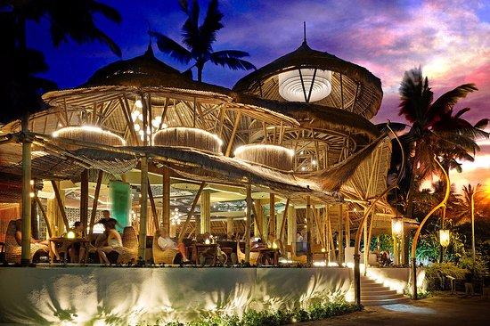 Azul Beach Club Open Air Restaurant Infinity Pool Tiki Bar
