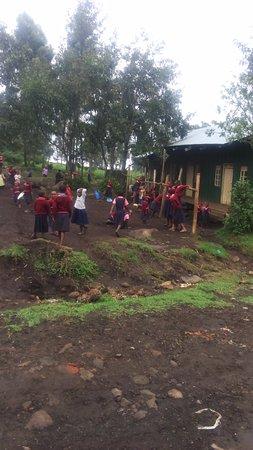 Mgahinga Gorilla National Park, Uganda: One of the Amajambere Iwacu Community Camp supported schools