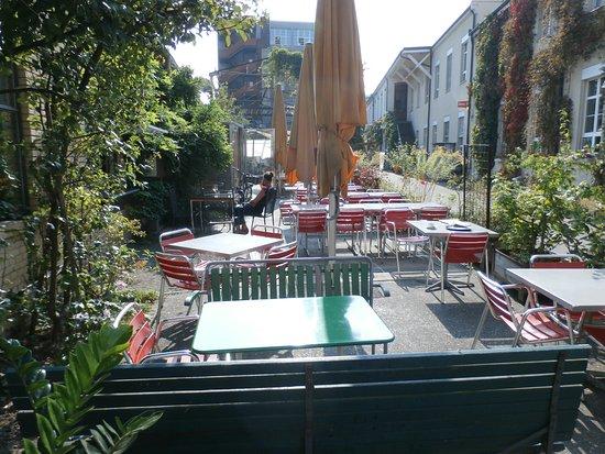 patio seating bild von werk 8 basel tripadvisor