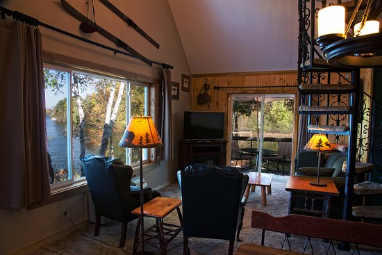 Rice Lake, WI: Our Bay House, room 20, that sleeps 8, great family cabin!
