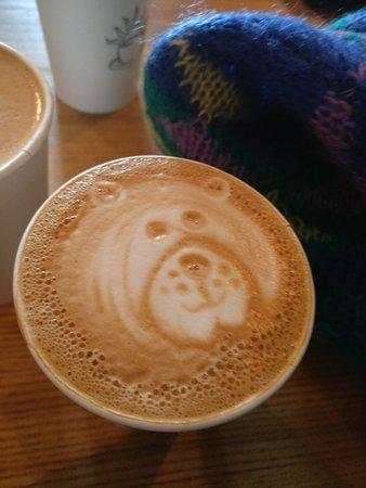Wakefield, Canada : Coffee art @ cafe molo