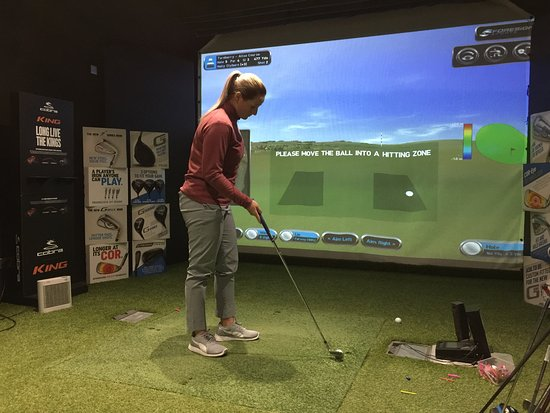 Simon Jowitt Golf Performance Studio Grimsby