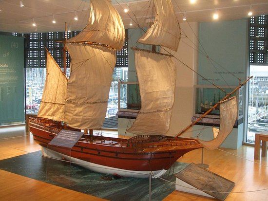 Replica model of the mayflower ship picture of mayflower for Replica mobel england