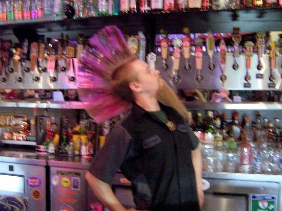 "Sanford's Grub & Pub: ""Monkey"" the Barman"