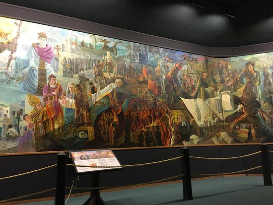 Berlin, OH: first panel of the cyclorama