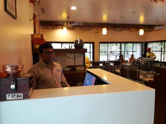 bhoj restaurant cashiers counter