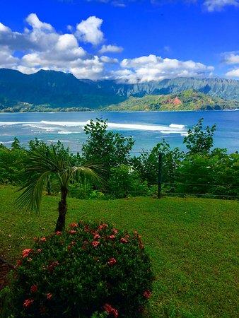 St. Regis Princeville Resort: Hanalei Bay from Suite 806