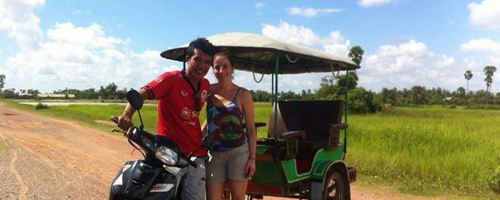 Tuk Tuk Angkor Driver