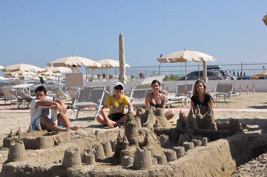 Province of Rimini, Italie : La spiaggia 55 viserbella