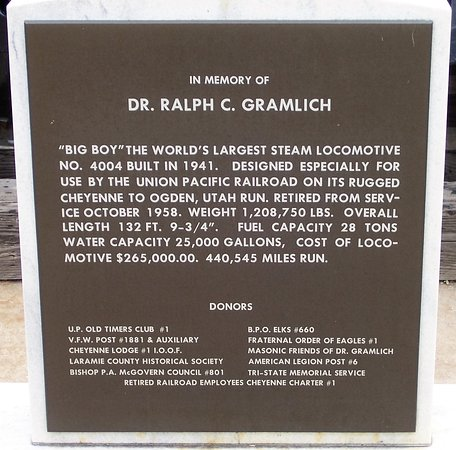 "Big Boy Steam Engine: Some history about the ""Big Boy"""