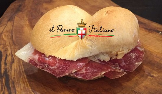 Il Panino Italiano: Panino con prosciutto crudo di Parma