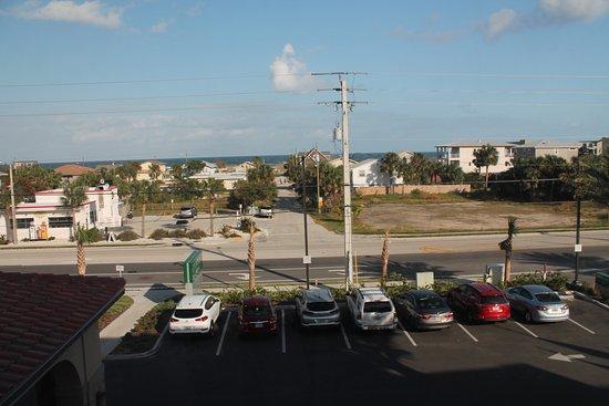 Courtyard By Marriott St Augustine Beach Blick Aus Dem Fenster