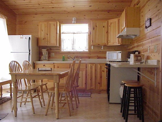Merrifield, MN: Kitchen/Dining Cabins 8 - 14