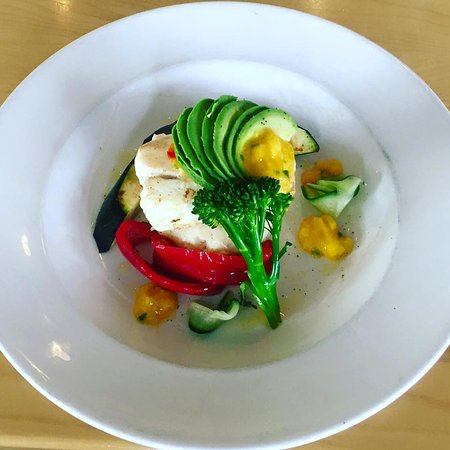 Flavor On The Water : Halibut Dinner