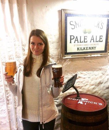 Kilkenny, Ireland: Оригинальный Smithwick's
