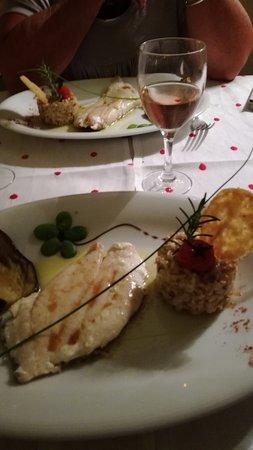 Beaumettes, France: Je n'aime pas les poivrons, l'épeautre, la vanille et pourtant je me suis régalé....