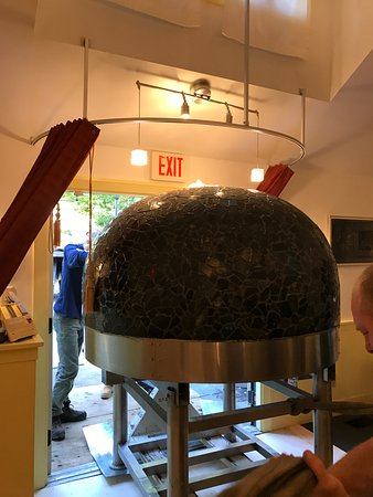 Yarmouth Port, MA: our new pizza oven