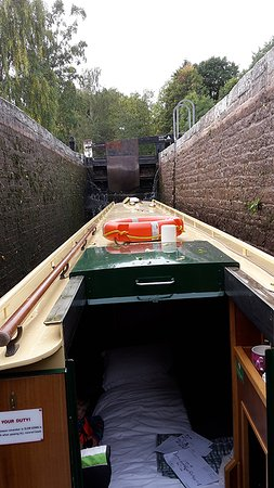 Llangattock, UK: Brecon canal lock