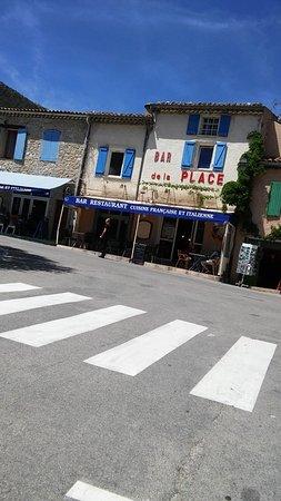 La Palud sur Verdon, ฝรั่งเศส: photo prise le jour de changement du bandeau