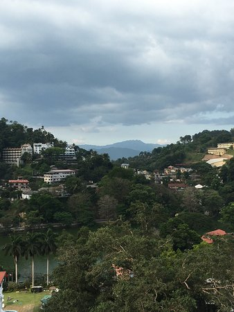 A modern hotel in Kandy