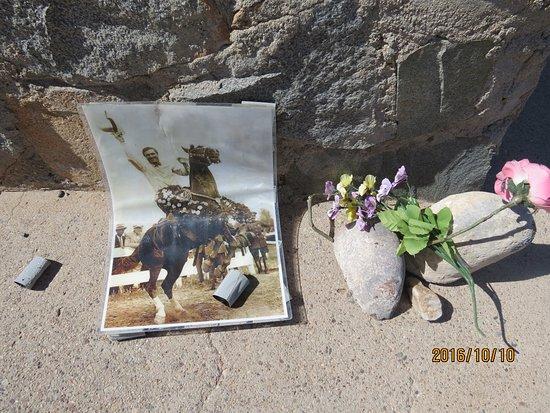 Florence, AZ: photo someone left at monument
