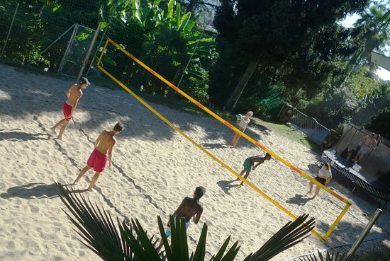 Auberge de jeunesse Lugano Savosa : Beachvolleyball