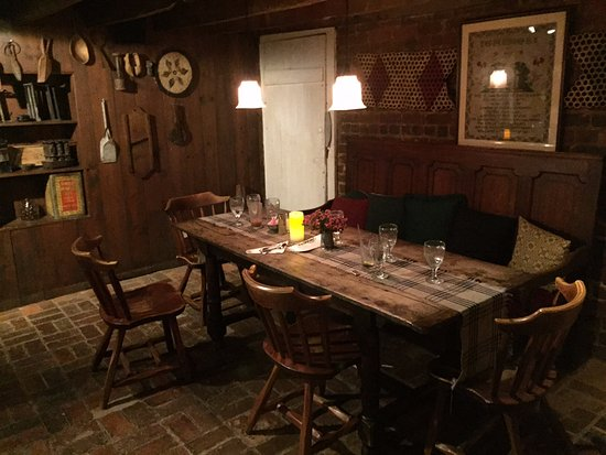 Wayside Inn: Dining in oldest part of the inn