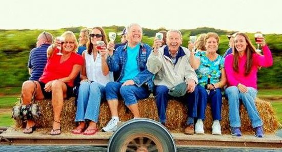 Vienna, MD: Wine Hay Rides at Our Annual Harvest Festival