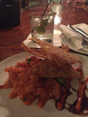 Wiscasset, Maine: Tuna tartare. So delish!!!
