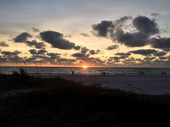 Sunset at Tortuga Beach Resort