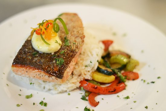 Frost Me Sweet Bakery & Bistro: Salmon from the Fresh Sheet