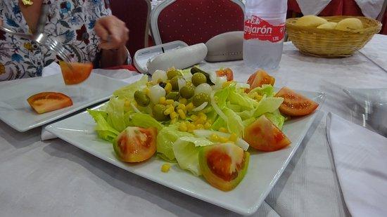 Benejúzar, España: la salade fraîche