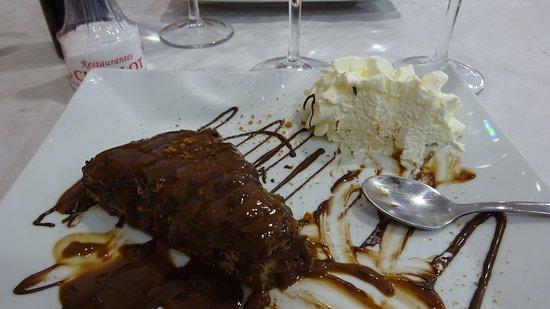 Benejúzar, España: la tarte au chocolat