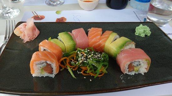 Rainbow Sushi Picture Of Wagamama Agia Napa Ayia Napa Tripadvisor