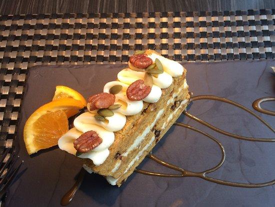 Beloeil, Kanada: Gâteau carotte/courge