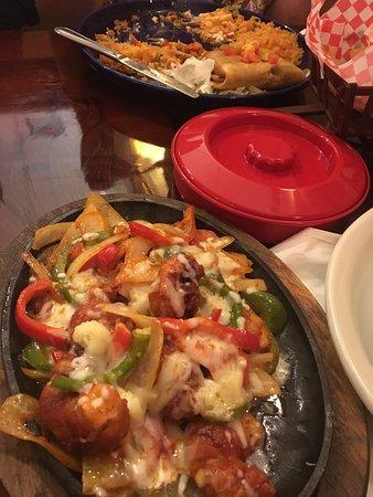 Shrimp Bacon Fajitas Picture Of Hacienda Mexican Restaurant Bar Delray Beach Tripadvisor
