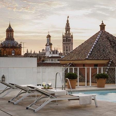 Hotel Fernando III : Piscina