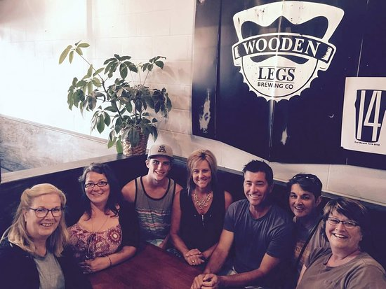 Wooden Legs Brewing Company : Family gathering at the pub.