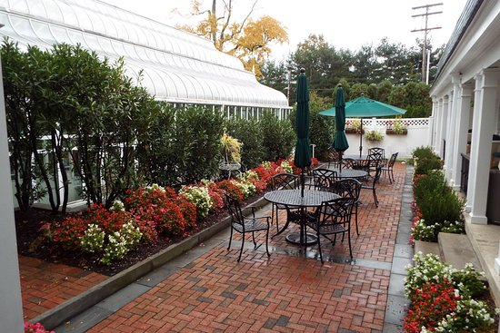 Morristown, NJ: One of several patios
