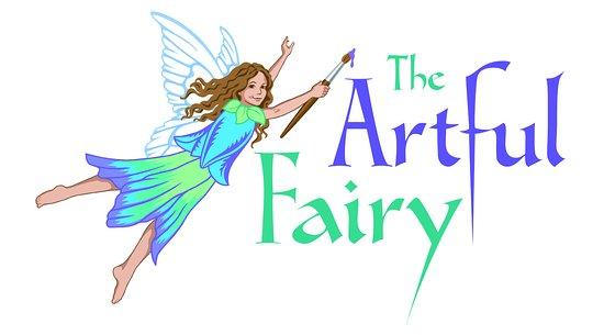 Victor, NY: The Artful Fairy Logo