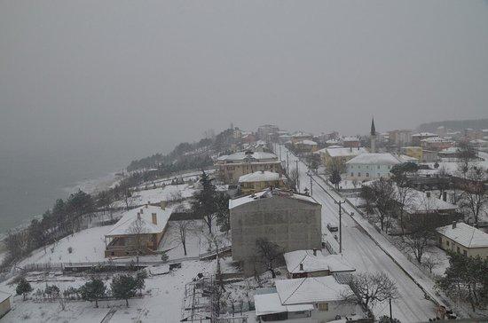 Igneada, Turquía: Ocak Ayında otelden Güney-Doğu Yönü Manzara