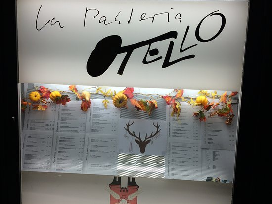 Otello : Welcoming sign