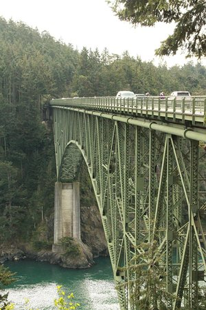 Oak Harbor, WA: Deception pass bridge